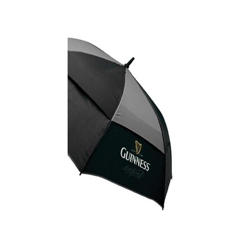 guinness golf regenschirm mit guinness logo gro. Black Bedroom Furniture Sets. Home Design Ideas