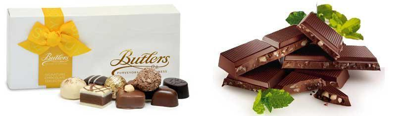 Butlers chocolate from Ireland...
