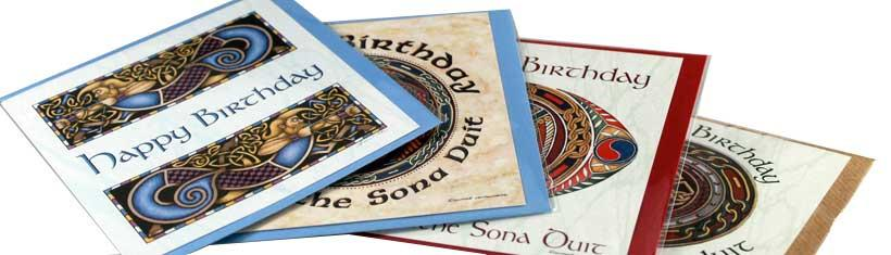 Beautiful celtic greeting cards with...