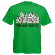 lustiges Irland T-Shirt - Ireland rocks
