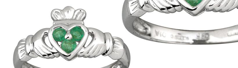 Claddagh Rings: The traditional rings from...