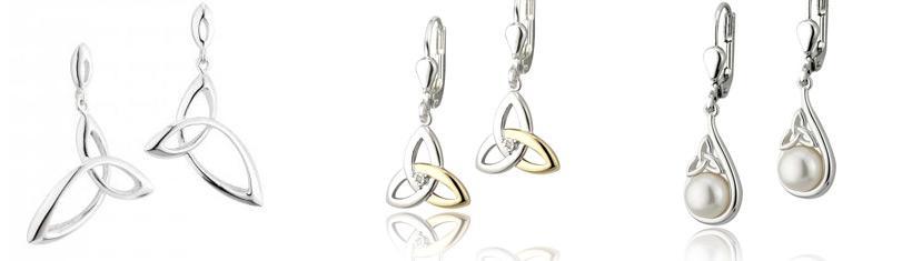 Stud earrings and earrings: Beautiful...
