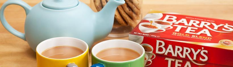 The Irish are record holders in tea drinking...