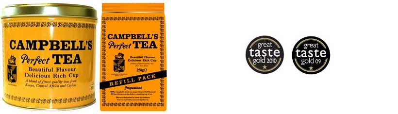 The retro tea from Ireland: Campbell\'s Tea...