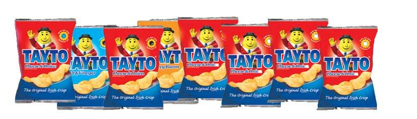 Chips from Ireland: The delicious snack for in...