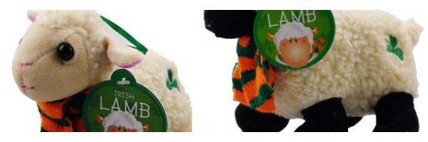 Sheep cuddly toys