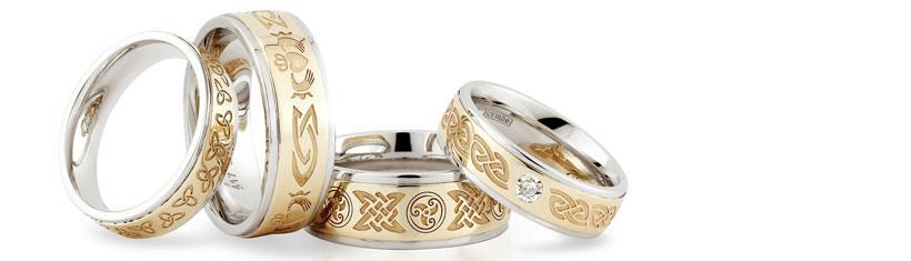 Keltische Eheringe: Besondere...