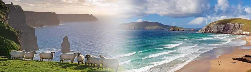 Beautiful Ireland motif calendars with...