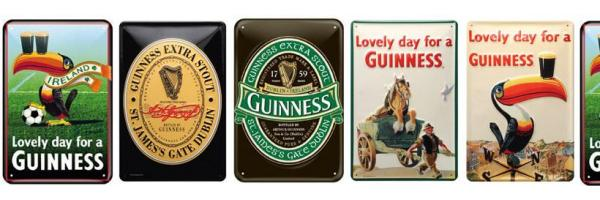 Guinness Tin Signs