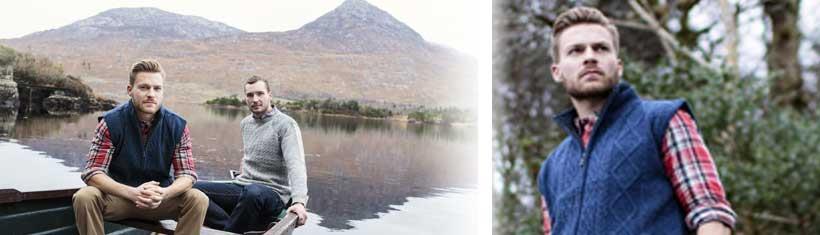 Irische Strickjacken sind modern, schick und...