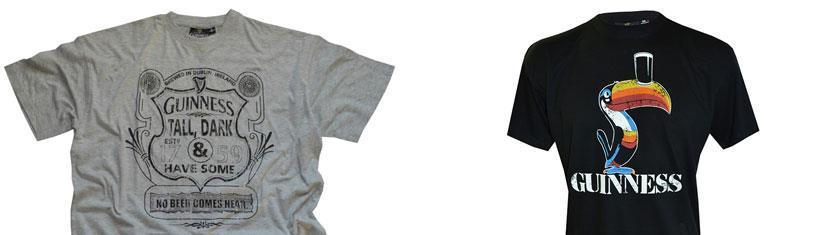 Guinness T-Shirts sind kreativ, lustig und in...