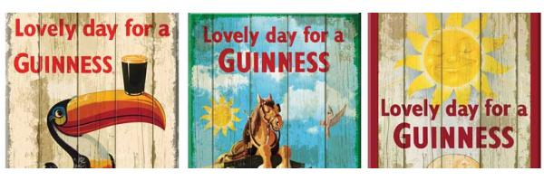Guinness Wooden Signs