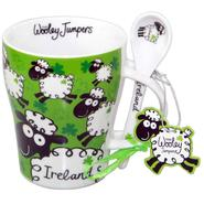 Wooley Jumpers Tasse mit Löffel