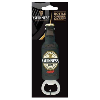 Guinness Bottle Opener in Bottle Shape, magnetic