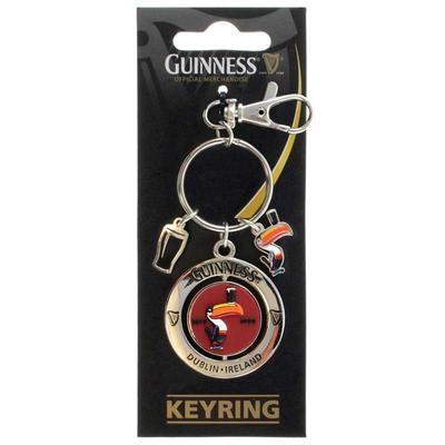 Guinness Schlüsselanhänger, Tukan