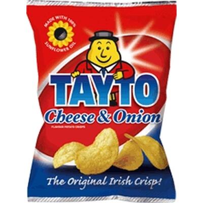 Tayto Cheese & Onion, Pack of 6