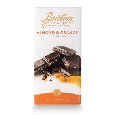 Butlers Schokolade mit Almond & Orange