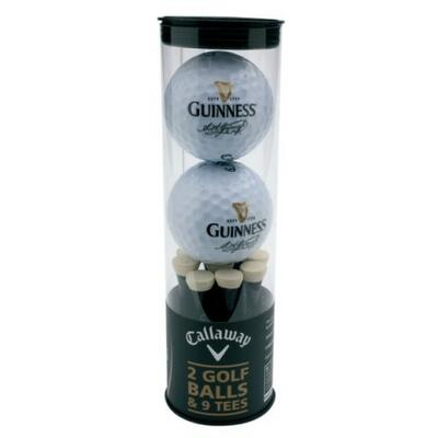 Guinness Golf Ball &B Tee Set