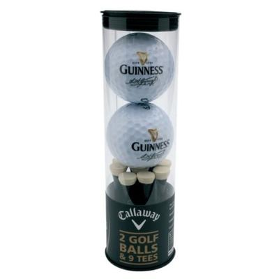 Guinness Golfball & Tee Set