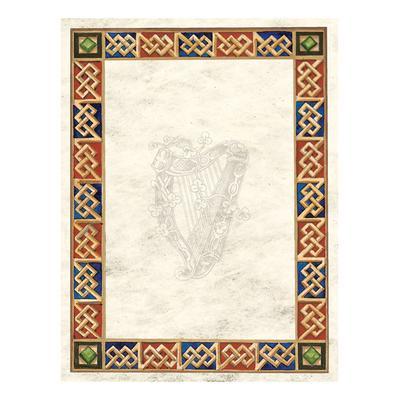 Briefpapier in irischem Design