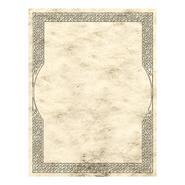 Briefpapier mit keltischer Umrandung