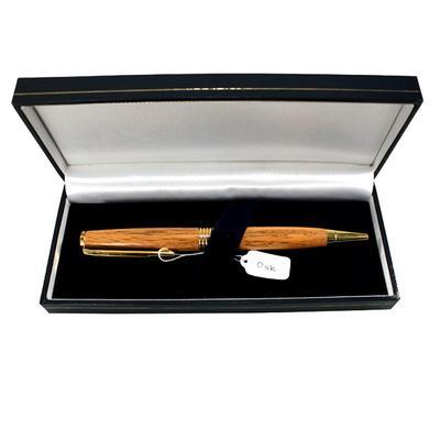 Donegal Pens, handgefertigte Kugelschreiber aus Eichenholz