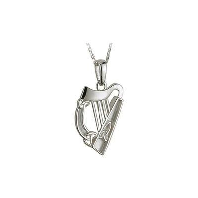 Pendant Harp Sterling Silver