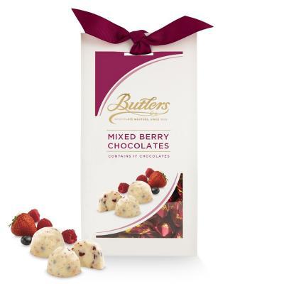 Butlers weiße Schokolade mit gemischten Beeren, 17 Stück