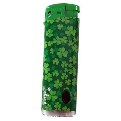 Ireland lighter with shamrock design