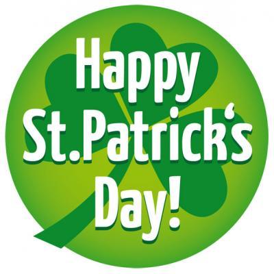 Button Happy St. Patricks Day!