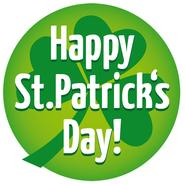 Happy St. Patricks Day! - Irland Button