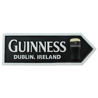 Guinness Magnetic Sign, Pint