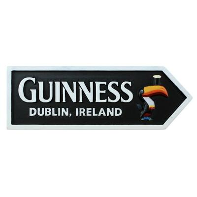 Guinness Magnetic Sign, Toucan