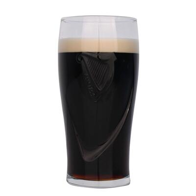 Guinness Glass with Relief 0,5l