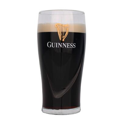 Guinness Glas mit Relief 0,5l