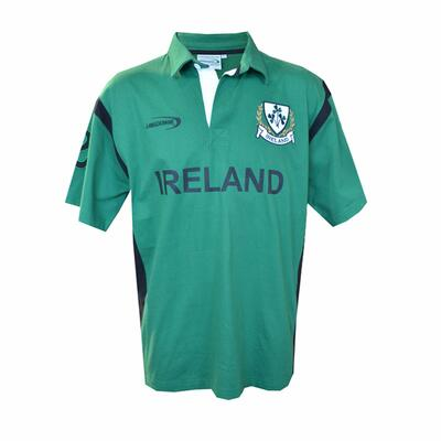 Ireland Rugby Shirt, green-black