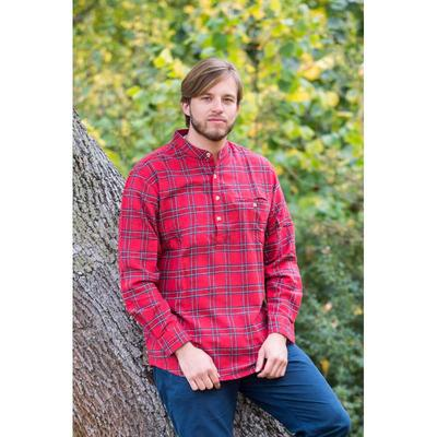 Stehkragenhemd / Grandfather Shirt - Royal Stewart