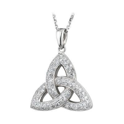 Anhänger Keltisches Knotenmuster mit Diamanten