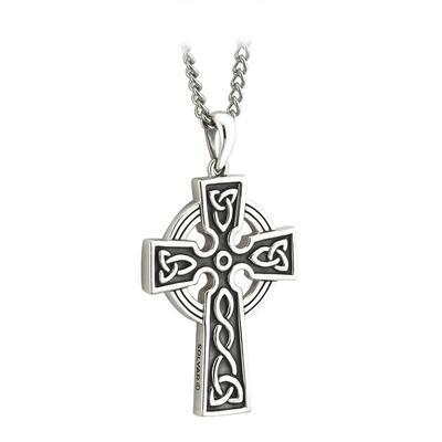 Anhänger Keltisches Kreuz, Edelstahl