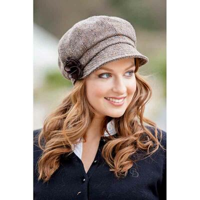 Newsboy Cap, brown-beige