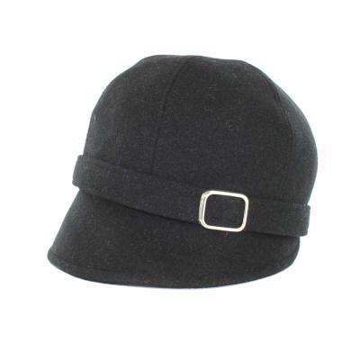 Flapper Hat, schwarz