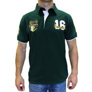 Polo shirt for men with Ireland crest