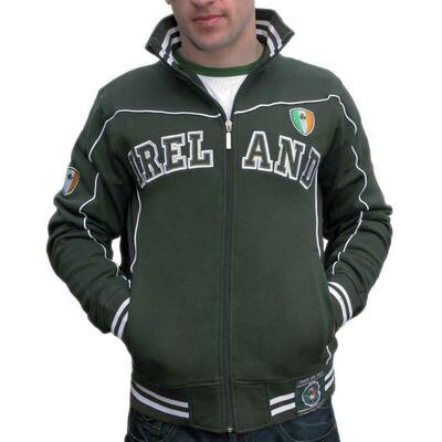 Sweater with Ireland writing