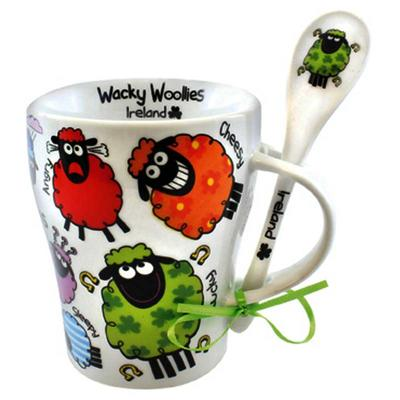 Wacky Woolies Cup with Spoon