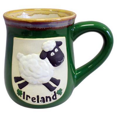 Sheep Mug, pottery
