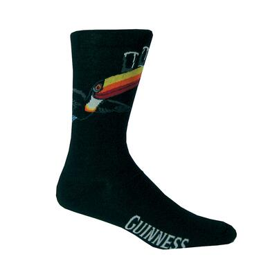 Cotton socks from Guinness with toucan emblem