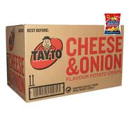 Tayto Cheese & Onion Chips Box of 50