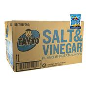 Tayto Salt & Vinegar Chips Box of 50