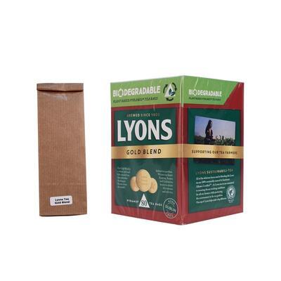 Lyons Tea Gold Blend, Teeprobe