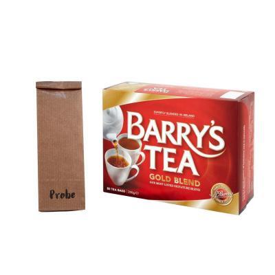 Barrys Tee Gold Blend, Teeprobe